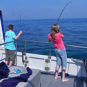 Fishing fun for all ages and abilities.