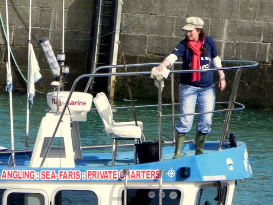 Newquay Sea Safaris and Fishing trips.