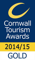 Cornwall Tourism Award winners 2014/15