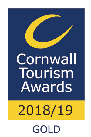Cornwall Tourism Award 2018 - Gold Award for Wildlife Friendly Business